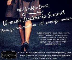 womens leadership summit Jan 4